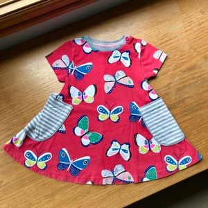 Mini Boden Butterfly Dress 🦋